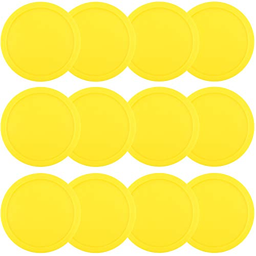 Lowest Price! ONE250 3 1/4 inch Air Hockey Pucks, One Dozen Goal Full Size Packs Replacement Accesso...