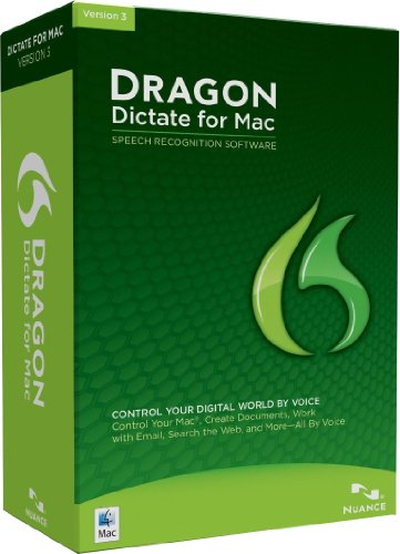 nuance software utilities Dragon Dictate 3.0 (Mac) (Old Version)