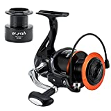 Best Surf Casting Reels - Dr.Fish Saltwater Spinning Reel Ocean Fishing Graphite Body Review