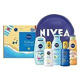 NIVEA Familienspaß Set, Sonnenschutz Pflegeset für die ganze Familie, praktisches Geschenkset mit...