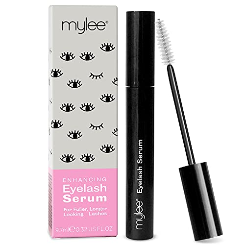 Mylee Enhancing Eyelash Serum for Lashes and Brows - Natural Fuller Thicker Lashes Eyebrows - Strengthening Lengthening Sparse Hairs Rapid Growth Lash Lift - Grow 1mm in 1 Month - Cruelty Free Vegan