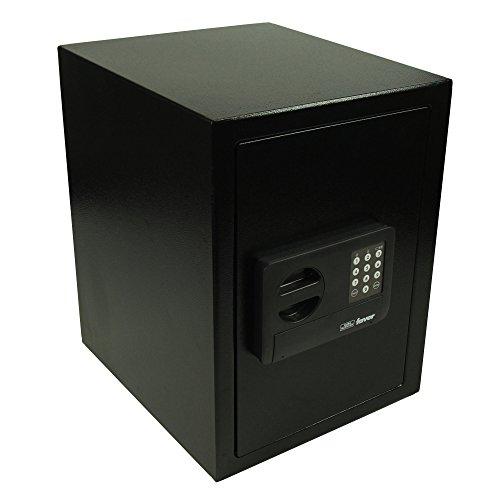 BURG-WÄCHTER Möbeltresor mit elektronischem Zahlenschloss, Favor S 7 E, Schwarz