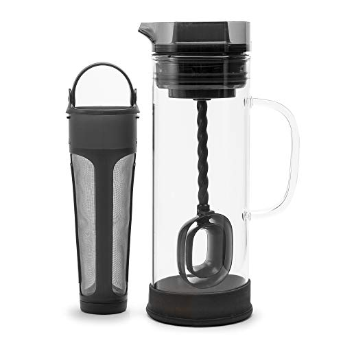Primula Glass Coffee Maker, 50 Oz Capacity, Gray