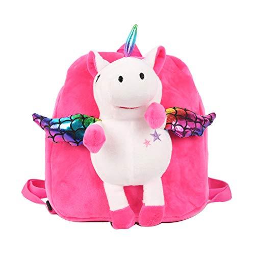 TENDYCOCO Unicornio Mini Mochila para niñas de Dibujos Animados Animal de la Escuela Mochila pequeña Mochila Bolsa Mochila Mochila para niños Mochila (Rosa)