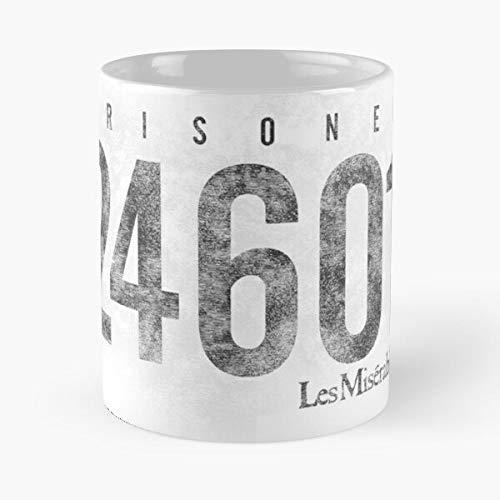 Mis Les Jean Hugh Karimloo Ramin Miserables Crowe Jackman Hugo Victor Russell Valjean Mis?rables Mejor Taza de café de cerámica de 11 oz Personalizar