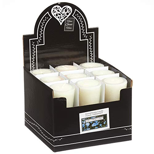 Asia Product 18 Votivkerzen Duftkerzen Kerze Stumpe Bratapfel Vanille Zimt Rose Tea Fresh Linen (Fresh Linen)