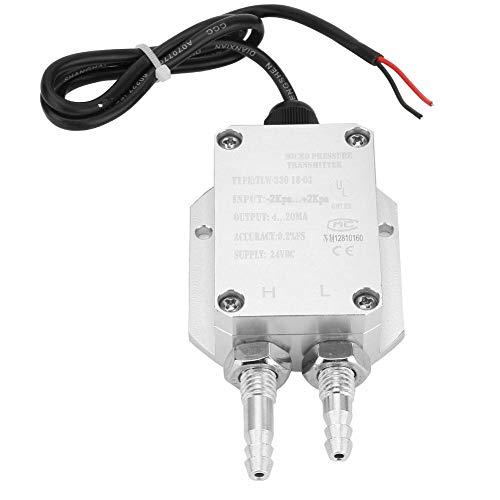 Differenzdrucktransmitter, 4-20mA Drucktransmitter für Reinraum, Kessel, Staubsammler, Staubsauger, Kraftwerk(-2Kpa~+2Kpa)