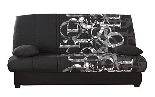 Relaxima Edwin Banquette-Lit Matelas Mousse Pillotech by Dunlopillo Randy 194 x 98 x 102 cm