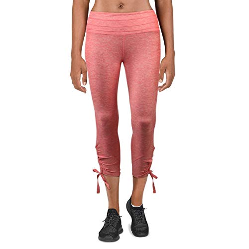 FP Movement by Free People Womens Swerve Fitness Yoga Athletic Leggings Pink XS