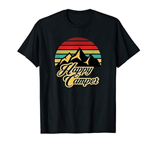 Happy Camper - Happy Camping - Caravan Wohnmobil Camper T-Shirt
