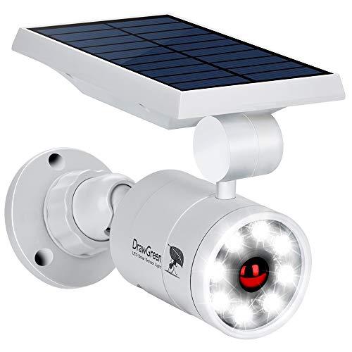meilleurs projecteurs solaires Lampe Solaire Détection de Mouvement Exterieur Jardin 8-Watts LED