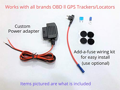 OBD ll GPS Tracker Hide/Relocate Wired Conversion kit Power Adapter