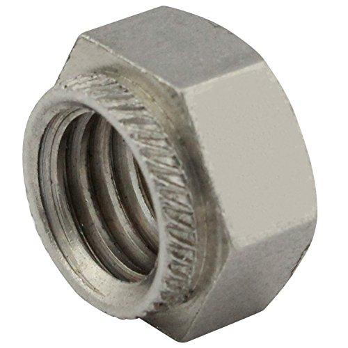 Sechskant-Einpressmuttern/Setzmuttern - M3 - (50 Stück) - aus rostfreiem Edelstahl A2 (V2A) - Schlagmutter - Niro - SC9120 | SC-Normteile®