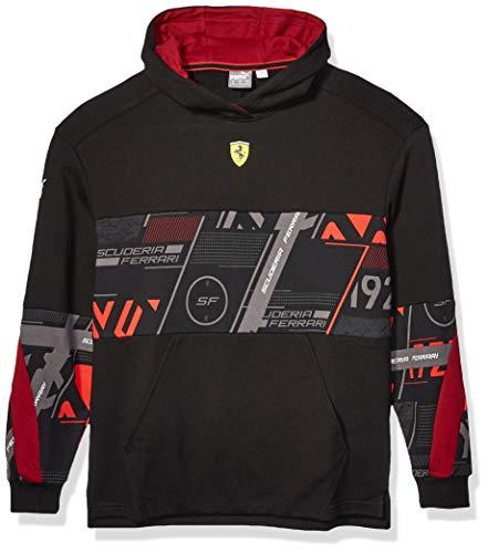 Puma Scuderia Ferrari Street - Sudadera con Capucha para Hombre - Negr