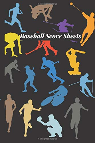"Baseball Score Sheets: Game Record Book Sheet, Score Keeper, Fouls, Scoring, Free Throws, Running scorebook. Gifts for home and visiting teams, ... 6""x 9"", 120 pages. (Baseball Logs, Band 43)"