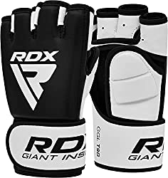 powerful RDX MMA Gloves Sparring Martial Arts Wrestling Cowhide Training UFC Cage Fighting Combat…