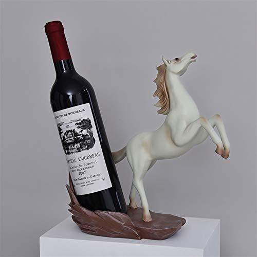 YAOLUU Estantes para Vino Estante de Vino Moderno Simple y Creativo Luz de Lujo Sala de Estar de Alta Gama Muebles para la casa, Ideal para los Amantes del Vino Botellero Moderno (Color : B)