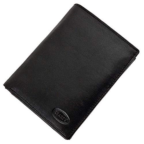 GoBago Branco Herren Geldbörse Leder Herrenbörse Portemonnaie Geldbeutel Kombibörse Münzfach mit Reißverschluss