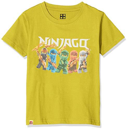 LEGO Jungen cm Ninjago T-Shirt, Grün (Lime Green 810), (Herstellergröße: 140)