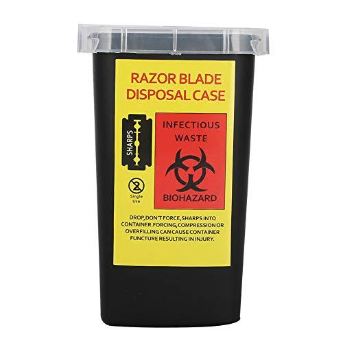 Worii 【𝐑𝐞𝐠𝐚𝐥𝐨 𝐝𝐞 𝐍𝐚𝒗𝐢𝐝𝐚𝐝】 Caja de desechos de Agujas portátil Resistente, Caja de desechos de contenedores duraderos, Agujas de Cuchillas para residuos médicos para Productos médicos