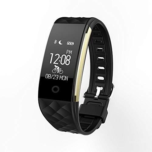 TEHWDE Fitnessarmband, activiteitstracker, smartwatch met stappenteller, hartslagmonitor, IP67 waterdicht, kleurendisplay, oproepen, sms-herinnering, geschikt voor Android en iOS