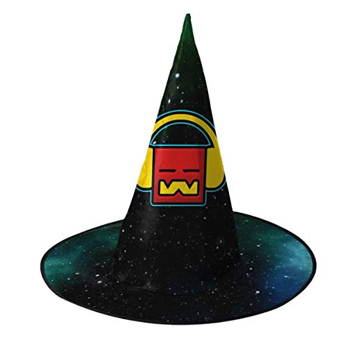 Buy Bargain Geo-metry Gaming Da-sh Halloween Hat 3D Witch Caps Stag Cosplay Costume Accessory for Pa...