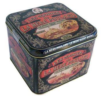 Biscuiterie Mère Poulard Mont Saint-Michel - Collector Box di Cookies - 400 Gr