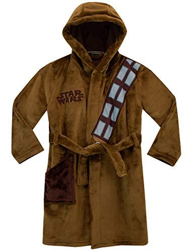 Star Wars Vestaglia da Notte per Ragazzi Chewbacca Marrone 7-8 Anni
