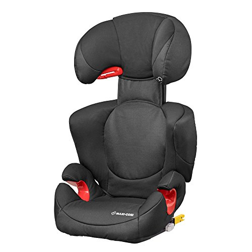 Maxi-Cosi Rodi XP FIX-kinderzitje, ISOFIX booster zitverhoging, 3,5-12 jaar, 15-36 kg, Night Black (zwart)