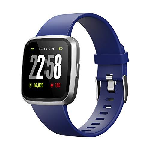Walkretynbe Gesundheits- und Fitness-Smartwatch, wasserdicht, Herzfrequenz-Monitor, Fitness-Tracker, Sport-Armband