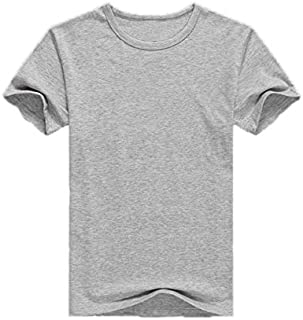 Fruit Of The Loom Gray Round Nick T-shirt For Men
