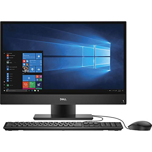 """Dell OptiPlex 5260 1920 x 1080 All-in-One Desktop Computer with Intel Core i5-8500 3 GHz Hexa-Core, 8GB RAM, 500GB HDD, 21.5"""" (5TH38)"""