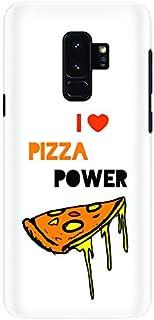 Stylizedd Samsung Galaxy S9 Plus Slim Snap Case Cover Matte Finish - I Love Pizza (White)