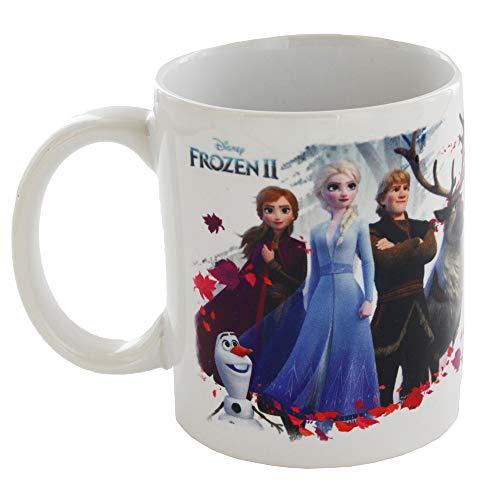 Redstring - Taza de desayuno Licencia Disney Grupo Frozen II de 315ml.