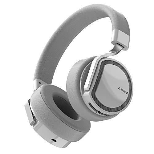 LRHD Auriculares inalámbricos 30 horas Tiempo de reproducción Bluetooth Auriculares Over-Ore Auriculares de bajo profundo con micrófono HD para teléfono PC Bluetooth auriculares Running Cycling Drivin