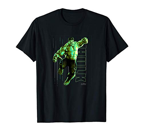 Marvel Infinity War Incredible Hulk Jump Smash T-Shirt