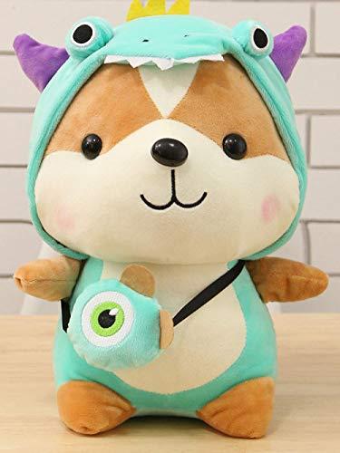Pop schattige transformerende eekhoorn knuffel kinderpop meisje cadeau-B_45cm