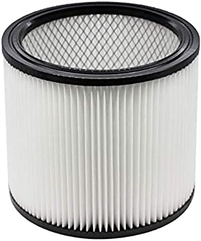 Perfect Fit Wet Dry Shop Vac Filter 90304 Replacement Filter - Perfect for Wet/Dry Shop Vac Vaccuums - Long Lasting - High Absorption  white