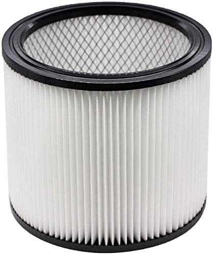 Replacement Filter For Shop Vac Filters 90304 Wet Dry Vac Filter - Perfect for Wet/Dry compatible with Shop Vac Vaccuums - Long Lasting - High Absorption (white)