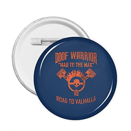 Mad Max Fury Road - Pin de metal personalizado de 58 mm, ideal como regalo de cumpleaos