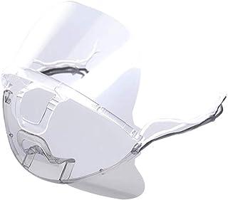 Ninistore プラスチック カバー 可動 透明 通気性 曇り止め 飛沫防止 繰り返し使える 20/50個入り 業務用 調整可能 飲食店 接客