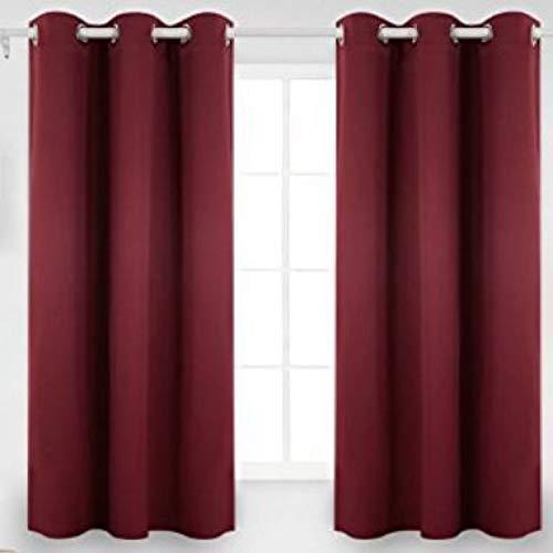 KLily Cortinas De Color Sólido De Doble Cara Utilizadas En El Hogar, Dormitorio, Balcón, Cortina Flotante, Tela De Sombra