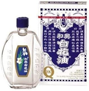 (Pack of 6) Hoe Hin - White Flower Embrocation (pak Fah Yeow) 20ml