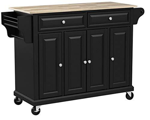 Crosley-52-Kitchen-Cart-in-Black