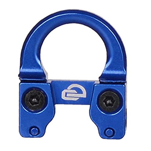 EElabper Arco de Fuego Lanzamiento de Tiro con Arco Enlace D Loop D Anillo Tornillo Esposas de Metal rápida Anillo D gatillo Azul
