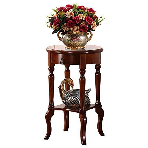 RONGW JKUNYU Exhibición de la Flor, Soporte de Flores de Plantas de Madera, Mesa de teléfono, Bonsai Jase Rack Estilo Chino Planta Clasística Planta Estante de Lujo Kistler Estante