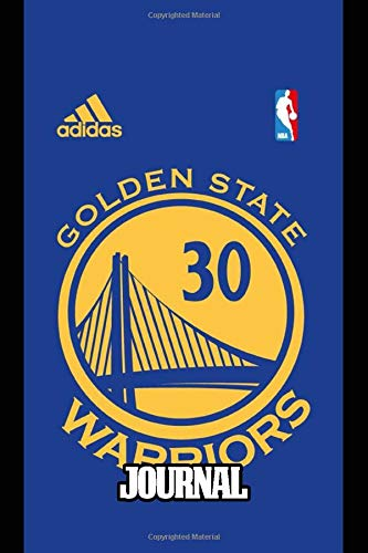 Journal: Journal Gift for Golden State Warriors NBA Fan Cute Drawing Photo Art Incredible Soft Glossy Ruled Line Fantastic with Journal Paper for ... for Teens and Children Students School Kids