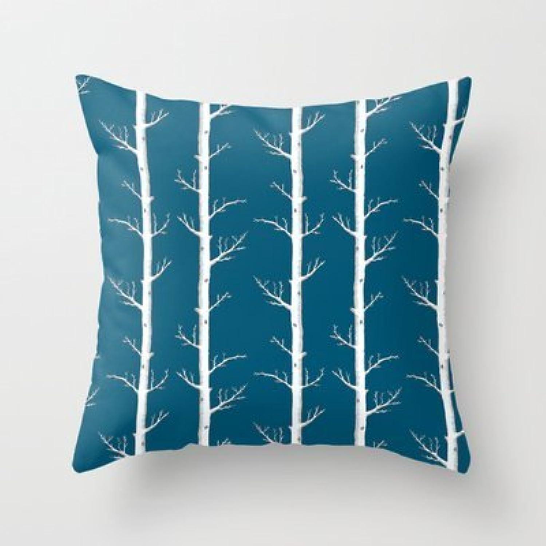 Infinitytrees In Petrolブルー枕カバー新しいデザイン枕カバー、ソファーオクトパス