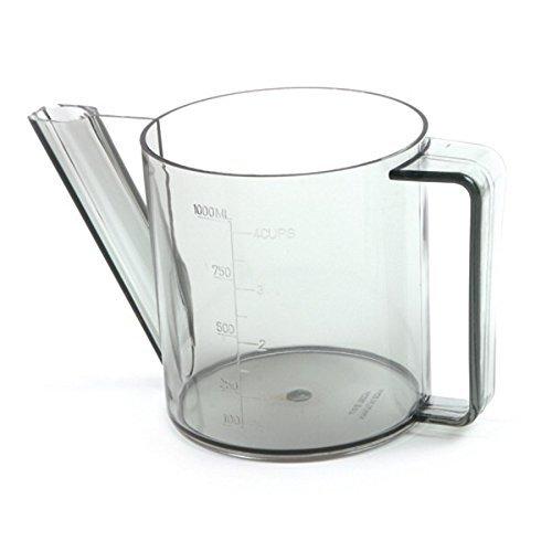 Norpro New 3 Cup Gravy Fat Separator Meat Juice Measurer Holds 4 Cups / 1 Liter