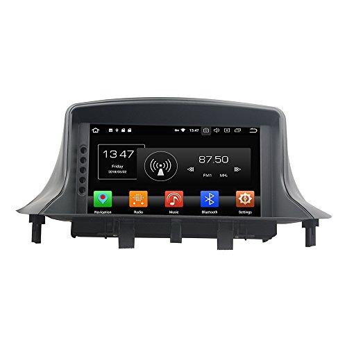 KUNFINE Android 10 Octa Core Ram 4G 32 GB di ROM autoradio GPS Navigazione DVD Lettore multimediale Controllo del volante headunit Stereo PerRenault Megane III Fluence 2009-2016